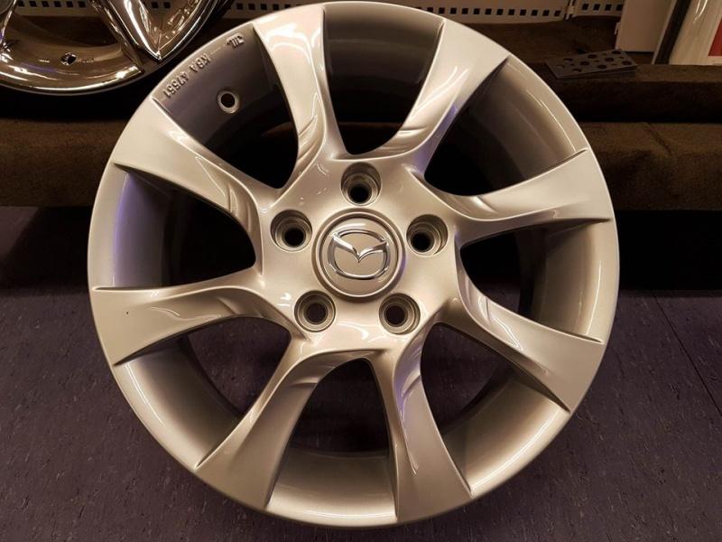 R15x6.0 5x114.3 ET50 Fondmetal Mazda original wheel SI