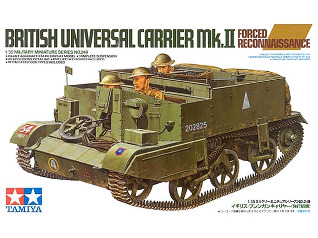 1/35 TAMIYA British Universal Carrier MK.II